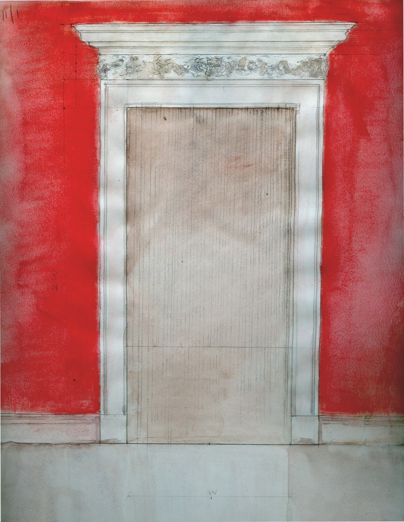 Nina Roefaro_ Red Orange Doorway